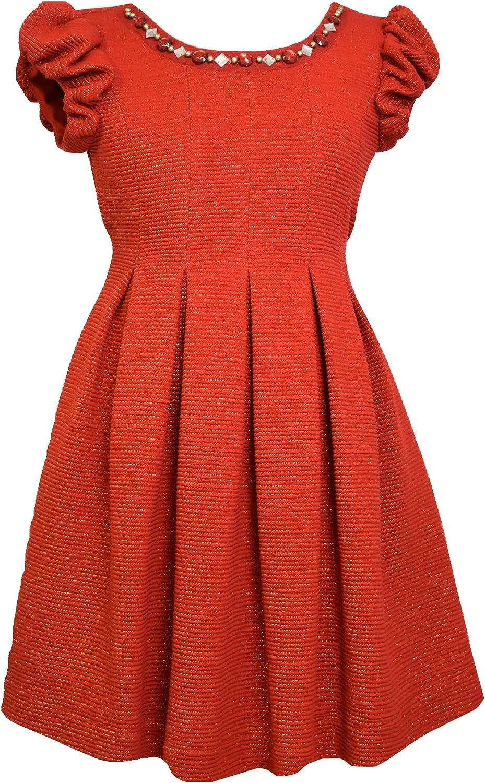 Bonnie Jean Girls' All Over Brocade Dress