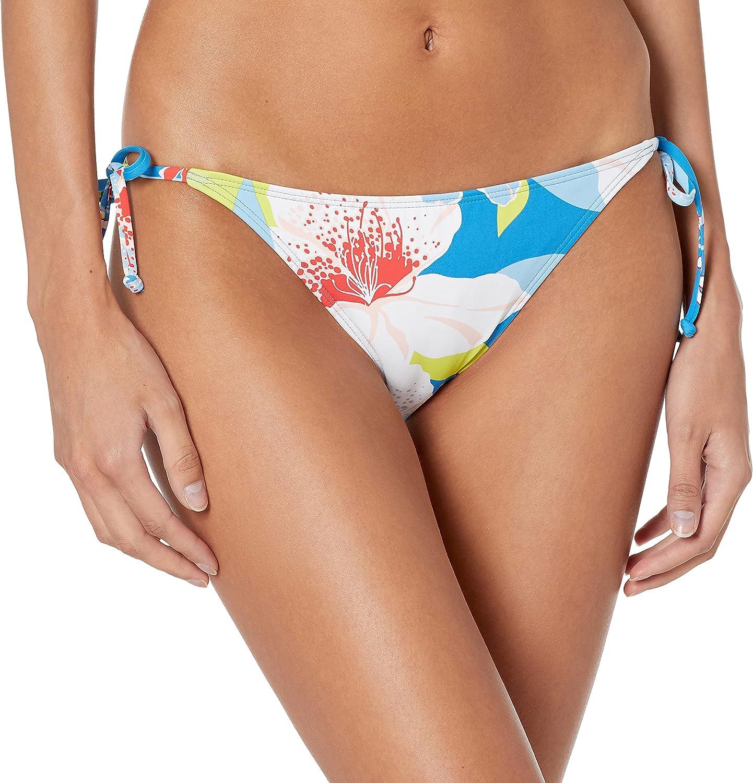 Roxy Women's Standard She Just Shines Tie Sides Moderate Bikini Bottom