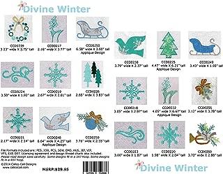 Divine Winter Machine Embroidery Designs