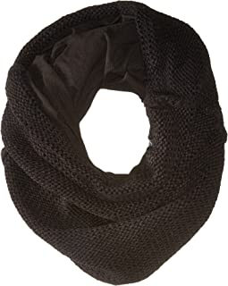 Fleece-Lined Chunky Knit Neck Warmer