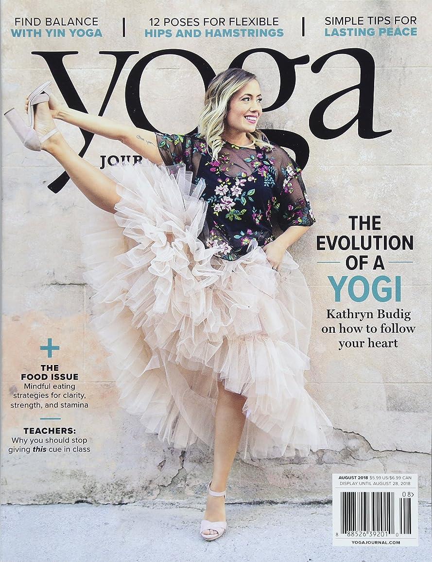 自由破壊するつま先Yoga Journal [US] August 2018 (単号)