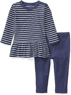 Baby Girls' Organic Dress and Legging Set