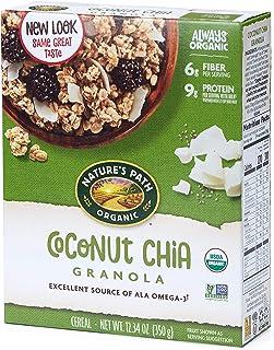 Nature's Path Coconut Chia Granola, Healthy, Organic, 12.34-Ounce Box