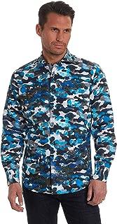 Robert Graham Men's Blue De Skies Limited Edition Sport Shirt