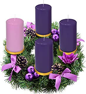 dripless advent candles