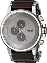 Vestal Men's PLWCM001 Stainless Steel and Plexi Wood Watch