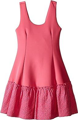 Anneka Drop Waist Tulip Dress (Big Kids)