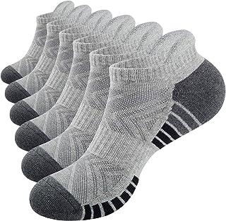 Benirap Running Socks, 6 Pairs Anti Blistered Ankle Socks Breathable Trainer Socks Sports Socks Low Cut Socks for Men wome...