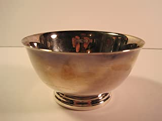 Oneida Paul Revere Reproduction, Small Silver-Plated Bowl, 4 Inches
