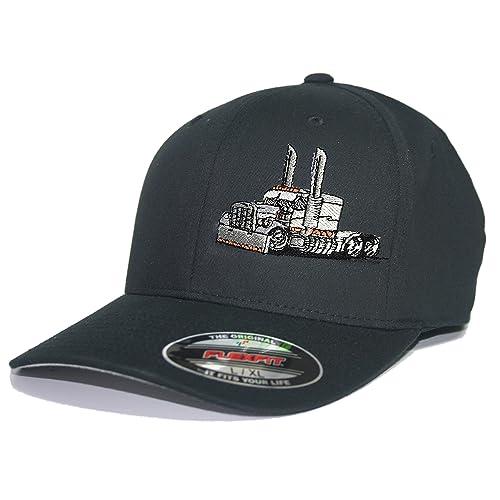 de381ba2 Trucker Hat Diesel Big RIG Cap Flexfit