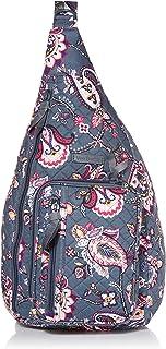 Vera Bradley Women's Cotton Medium Sling Backpack