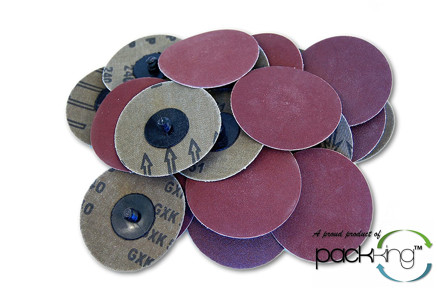 25 PC 3 Inch Roloc Discs 240 R Sanding Type 5% OFF Ab Grit Ranking TOP15 Extra Fine