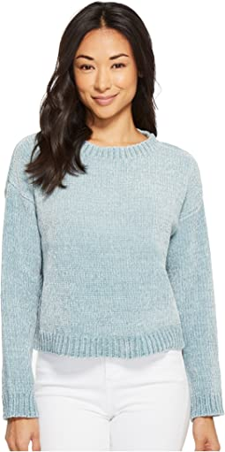 American Rose Allison Chenille Long Sleeve Sweater