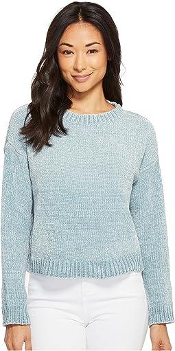 Allison Chenille Long Sleeve Sweater