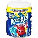Kool-Aid Twists Sugar-Sweetened Ice Blue Raspberry Lemonade Powdered Soft Drink, 20 oz Canister