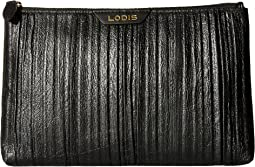 Lodis Accessories - Pleasantly Pleated RFID Flat Pouch