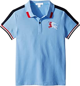 475d1fea Burberry kids mini short sleeve ppm polo shirt little kids big kids ...
