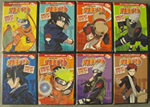 Naruto Uncut: Complete Seasons 1-4 (8 Box-Set Pack: 220 Episodes on 48 Discs)