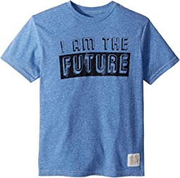 I Am The Future Short Sleeve Tri-Blend Tee (Big Kids)