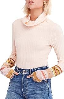 Women's Mixed Up Cuff Top