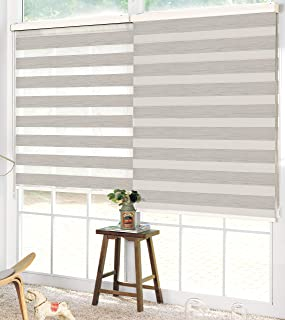 Linen Depot Direct 22347 Night&Day Ivory 24 x 84 Night & Day Roller Blind 24