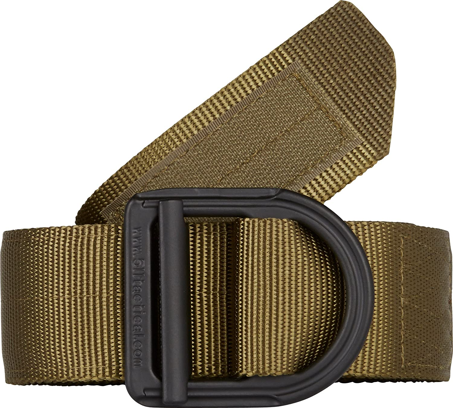 5.11 Tactical Operator 1 3 4  Belt, Military Style, HeavyDuty Nylon Mesh 5100lb Tensile Strength, Stainless Steel Buckle, Fade & Rip Resistant, Style 59405