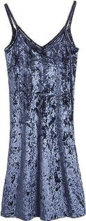 comprar comparacion CityComfort Camisón Pijama de Terciopelo para Mujer | Lencería para Mujeres | Ropa Interior de Dormir