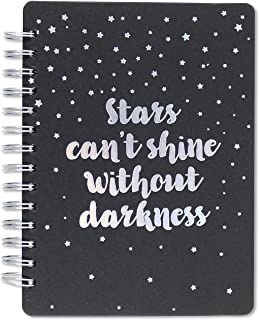 Stars Can't Shine Without Darkness Journal (Black Rock Journal, Notebook)