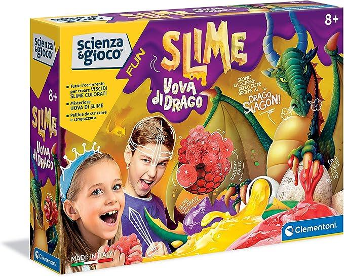 88 opinioni per Clementoni- Scienza e Gioco Fun, Slime Uova di Drago, Gioco Scientifico 8 Anni,