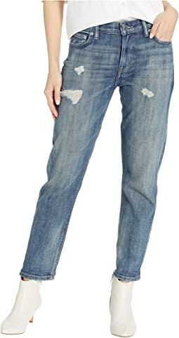 Sienna Slim Boyfriend Jeans in Caraway Destruct