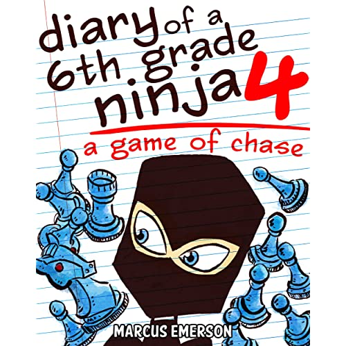 Amazon.com: Diary of a 6th Grade Ninja 4: A Game of Chase (a ...