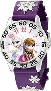 Disney Kids' W002437 Frozen Elsa & Anna Time Teacher...
