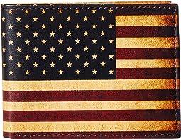 M&F Western - Vintage USA Flag Bifold Wallet