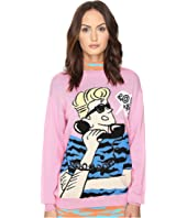 Jeremy Scott Retro Cartoon Sweater
