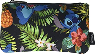 Loungefly Disney Lilo & Stitch Stitch Hawaiian Print School Pencil Case