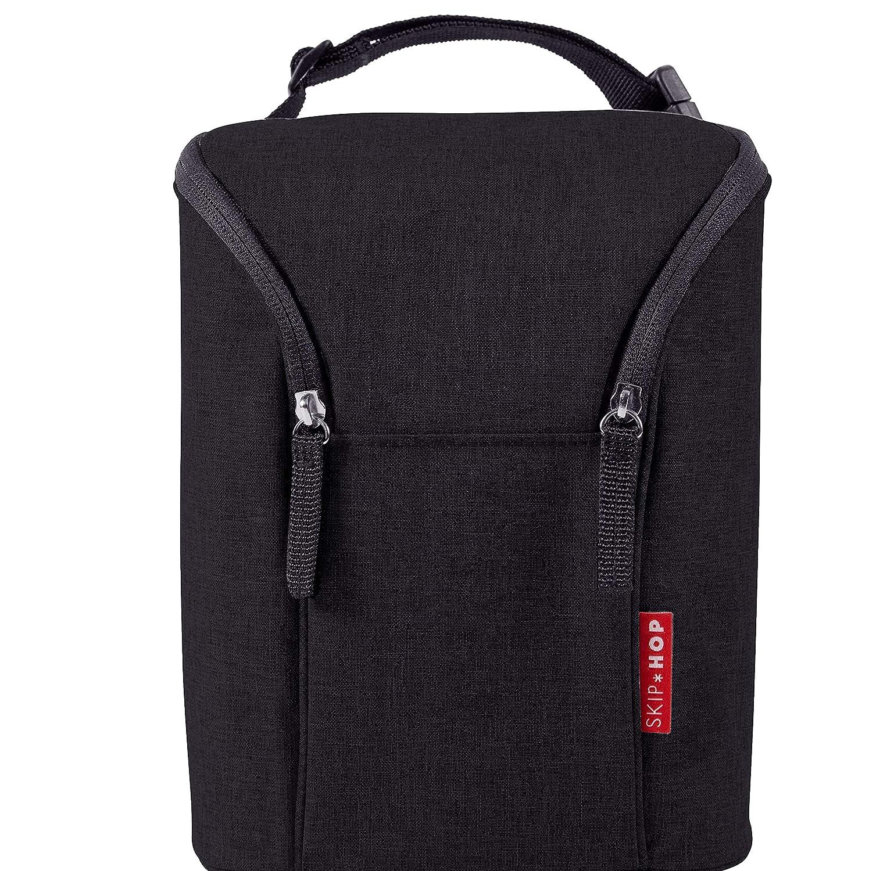 Skip Hop Baby Bottle Bag, Grab & Go, Black