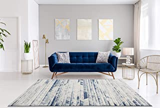 Best grey and navy area rug Reviews
