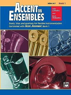 Accent on Ensembles, Book 1 (Accent on Achievement)