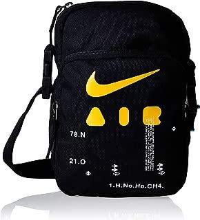 Nike Mens Messenger Bags, Black/Black/Kumquat - Ba5899-011