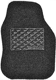 Nicoman Universal Car Non-Slip PVC Rubber Heavy Duty Easy Clean Floor Mat, Black(8mm Thick), Driver Side (1pc)
