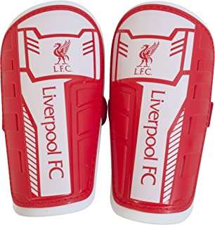 Liverpool Fc Unisex Official Slip In Shinguards, Multi-colour, X-small/youth