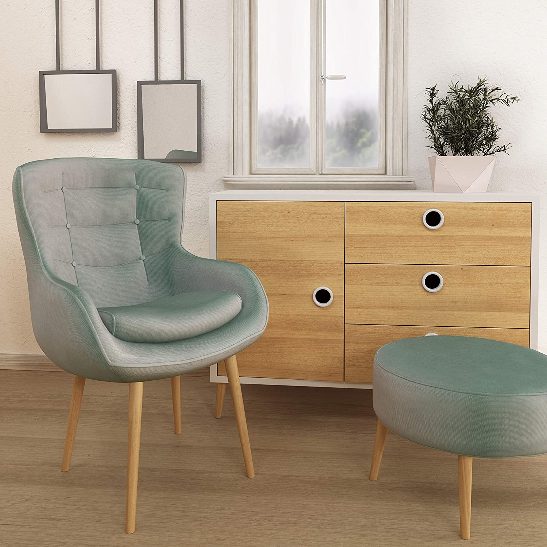 | material: madera maciza Acabado de aceite sossai/® Clif patas para muebles de madera etc. haya mesas Altura: 15 cm HMF1 armarios versi/ón recta | para sillas c/ónico redondo