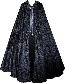 Victoriano Gótico Renaissance Steampunk capa manto de terciopelo negro