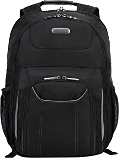 Targus Air Traveler Laptop Backpack, Professional Business Bag with TSA Security Checkpoint-Friendly, Durable Material, Multiple Accessory Pockets, Protective for 16-Inch Laptop, Black (TBB012US)