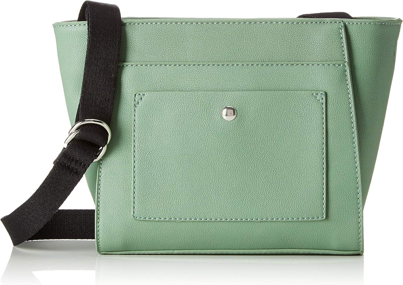Esprit Accessoires 039ea1o031, Women's CrossBody Bag, Green (Dusty Green), 7,5x19x21 cm (B x H T)