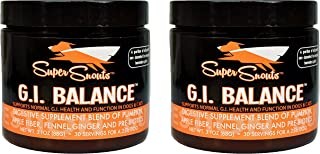 (2 Pack) Super Snouts G.I. Balance Digestive Blend Supplement for Dogs and Cats
