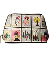 Alice + Olivia - Nikki Vintage Stace Collage Cosmetic Case