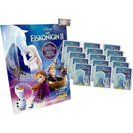 Serie 2 Crystal 2020 1 Album Disney Die Eiskönigin Sammelsticker 10 Tüt