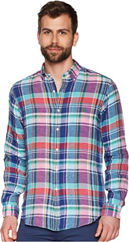 Polo Ralph Lauren Linen Long Sleeve Sport Shirt