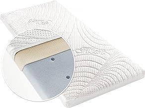 balan/çoire Matelas en mousse respirante matelass/é et imperm/éable pour berceau berceau 87 x 38 x 4 cm landau